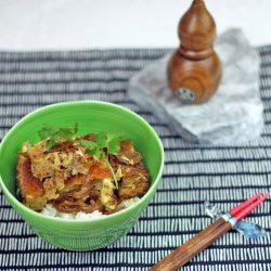 Yuki's Japanese Cooking Lesson showing you how to make Katsu Don and Donburi