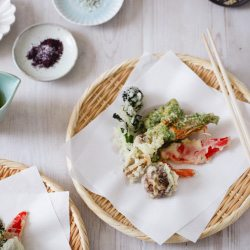 Learn to cook tempura at a japanese cookery class with Yuki