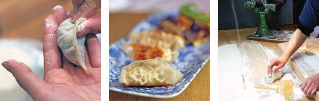 Japanese gyoza dumpling cookery cooking class in london