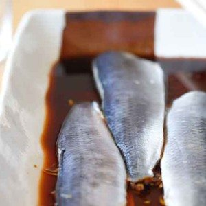 A picture from my Japanese cooking class specialising in fish and seafood
