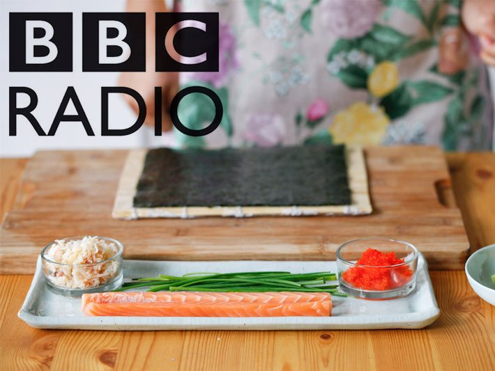 Japanese food with Yuki on BBC Radio London