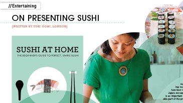 sushi rolling with yuki