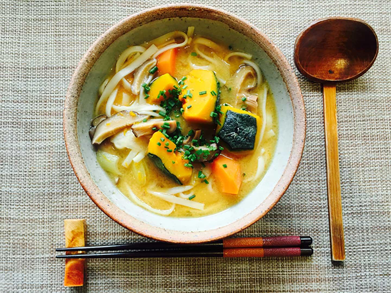 Japanese Kabocha Pumpkin Soup