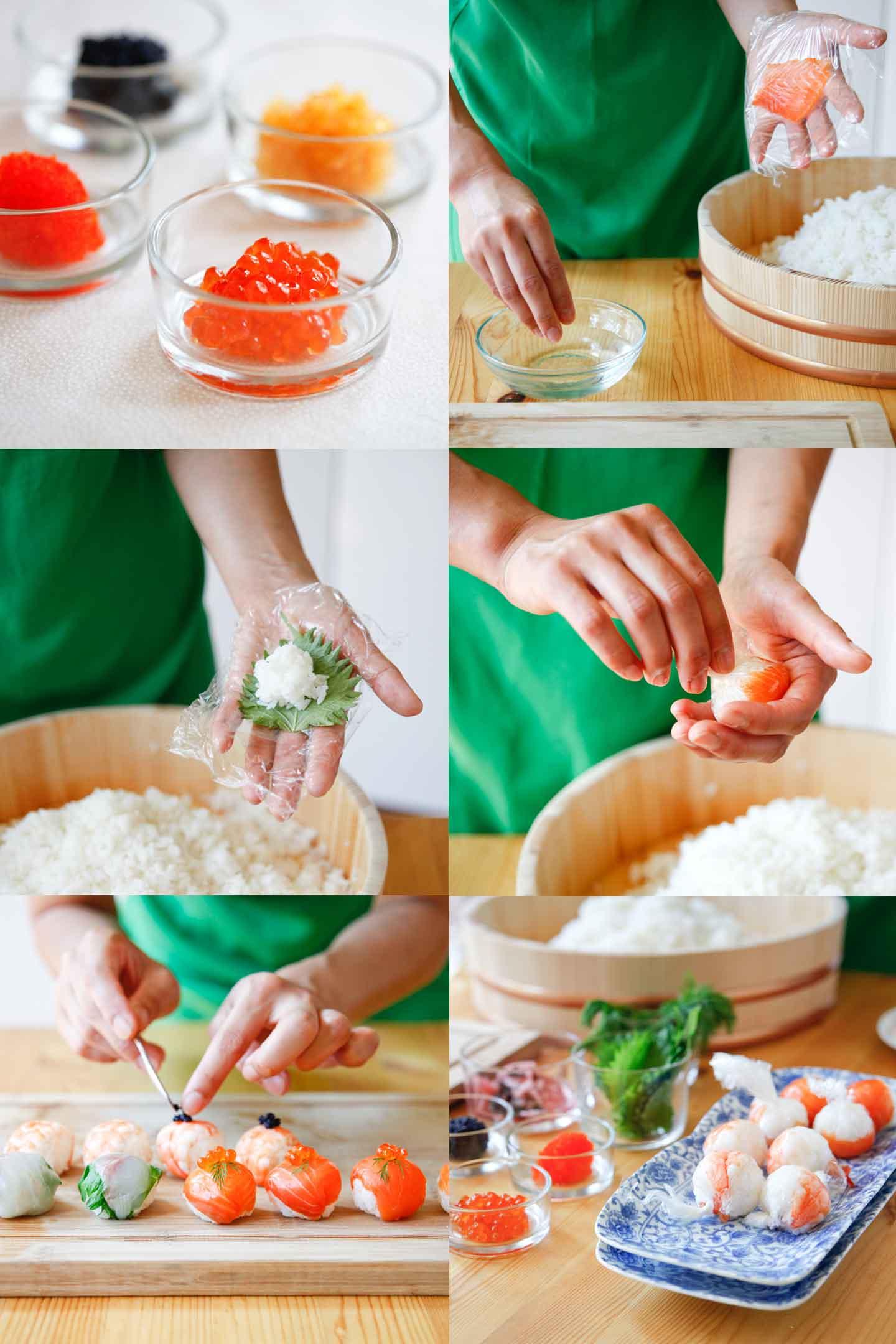 Te Mari Sushi Canapés