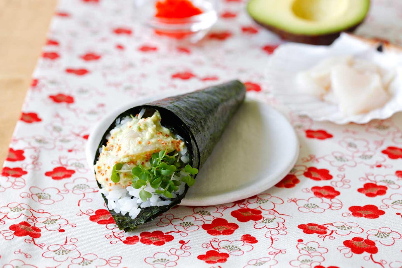 Temaki Sushi Hand Rolls