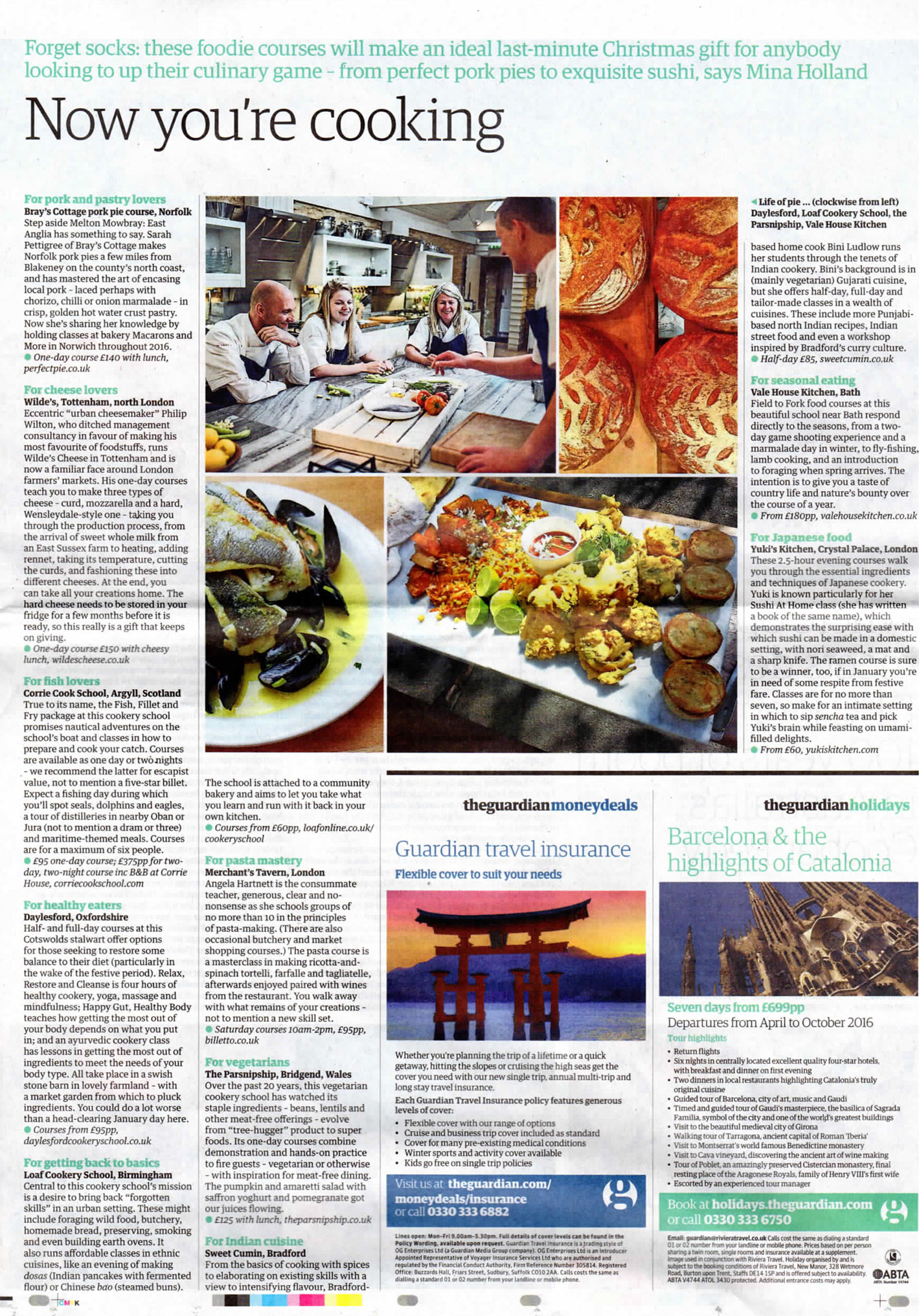 Japanese cookery school yukis kitchen cookery school features in the guardian forumfinder Image collections