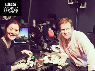 supermarket sushi at BBC radio