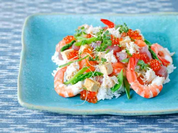 Chirashizushi recipe