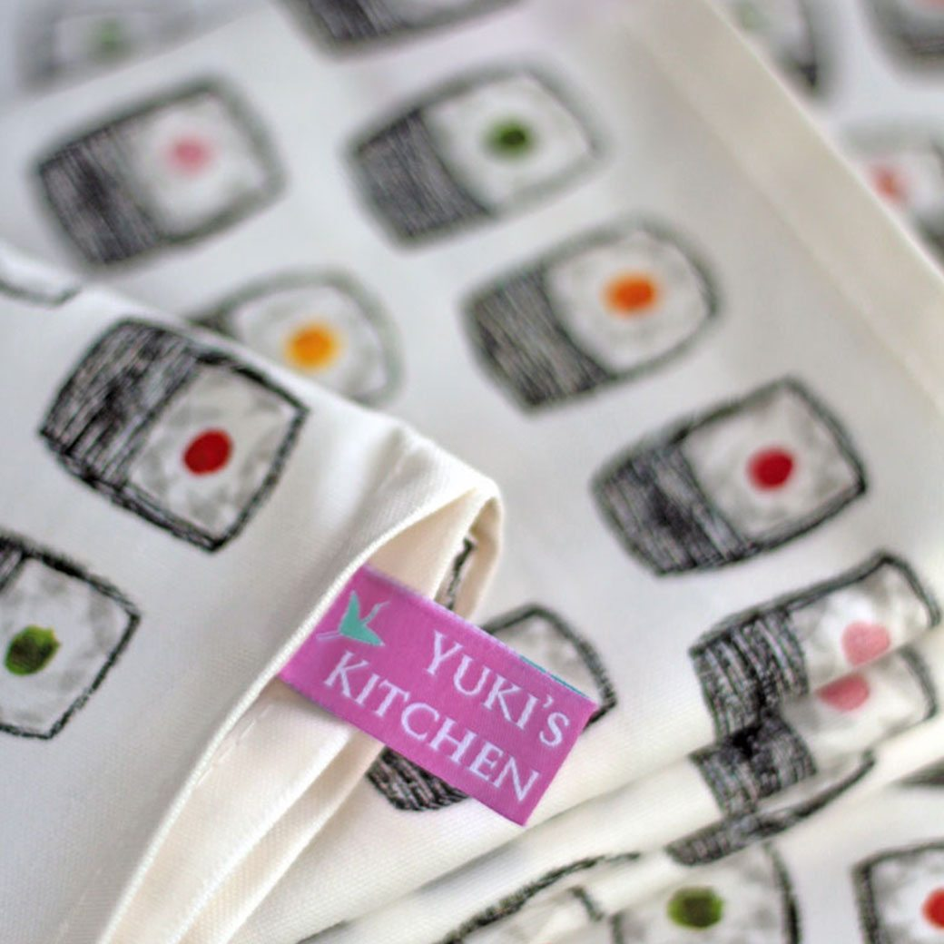 Maki Sushi Tea Towel